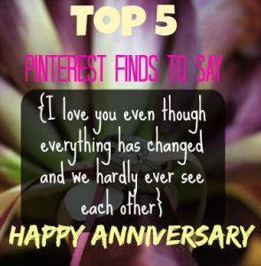 anniversary ideas livefromtheplayroom