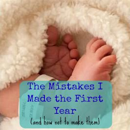 first year mistakes livefromtheplayroom