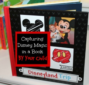 Have your child write captions for a disneyland memory book livefromtheplayroom