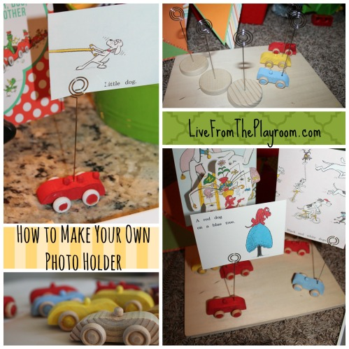 how to make a photo holder
