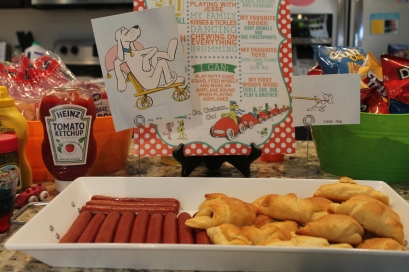Big Dogs and Little Dogs for our Go Dog Go party.