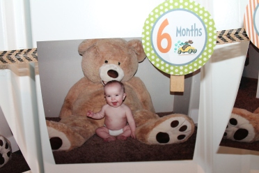 MUST have at the first birthday! Monthly pictures! They grow so fast!