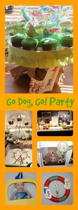 Fun way to celebrate with a Go Dog Go party!
