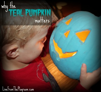 why the teal pumpkin matters