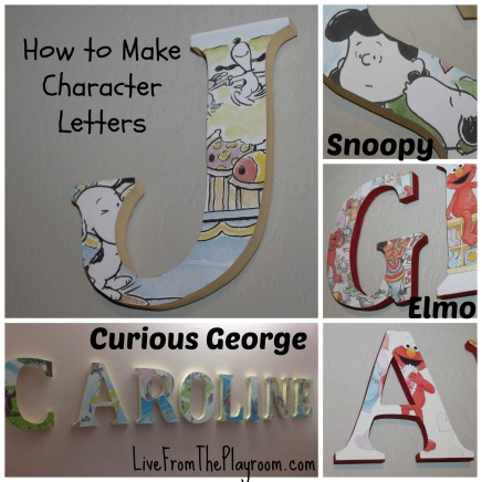 So much easier than painting letters. How to create character letters without drawing.