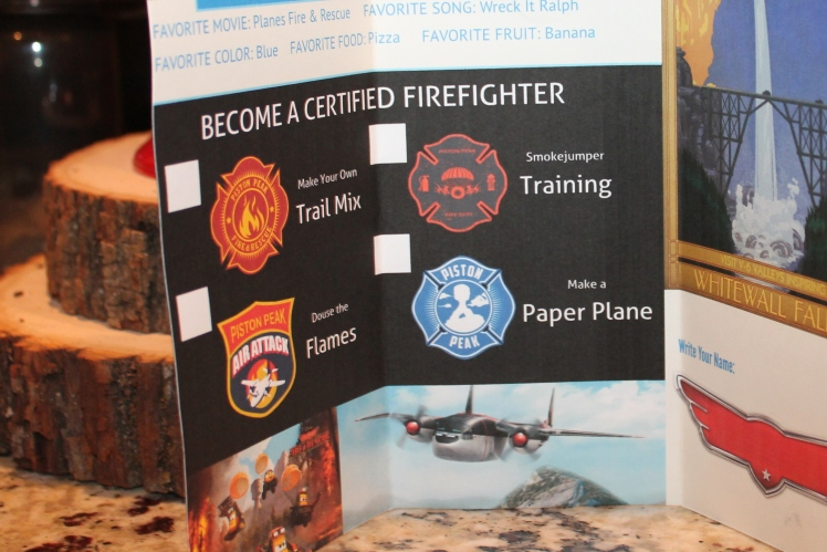 Planes Fire and Rescue party activities and games