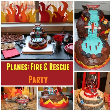planes fire and rescue party ideas 1