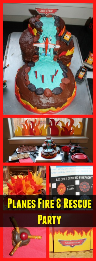planes fire and rescue party ideas