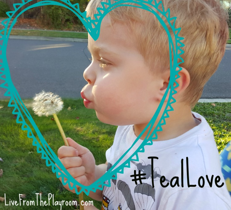 What Teal Love Means to this Food Allergy Family