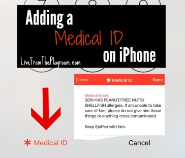 save your medical id in case of an emergency