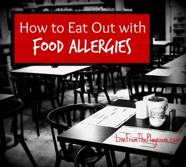 tips to eat out with food allergies