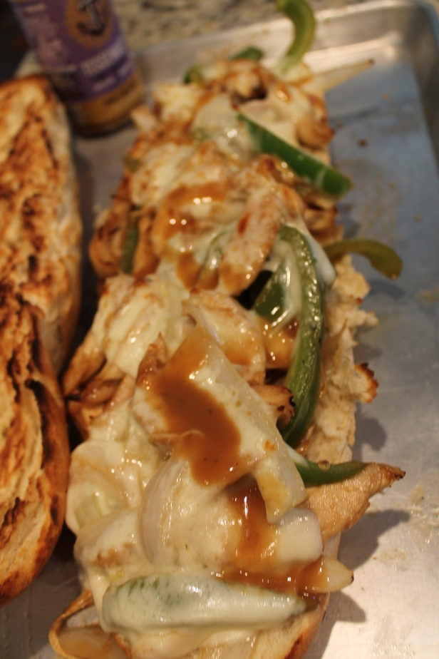 honey balsamic chicken melt