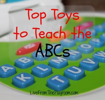 top toys to teach the ABCs