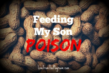 feeding my son poison