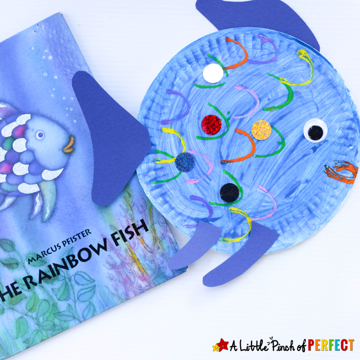 Paper-Plate-Fish-Craft-Inspired-by-The-Rainbow-Fish_A-Little-Pinch-of-Perfect-8